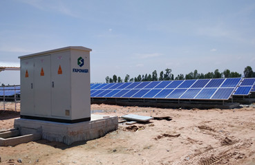 20MW Utility-scale PV Station in Cambodia