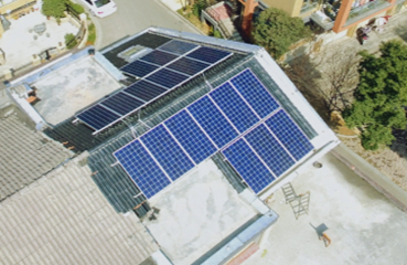 2.5KW Villa Rooftop PV Project in Shaoxing